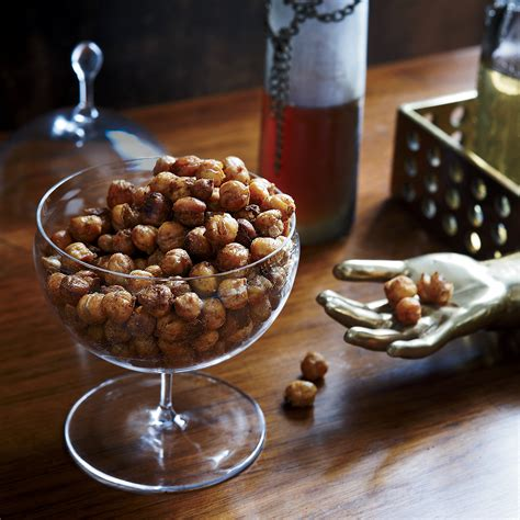 easy christmas hor dourves spiced roasted chickpeas recipe susan spungen food wine