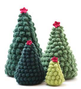 crocheted trees according to matt creative crocheted