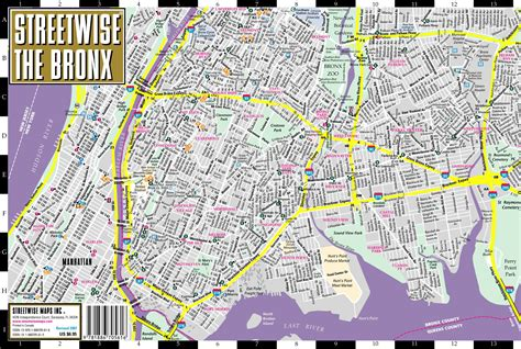 bronx map bronx map images