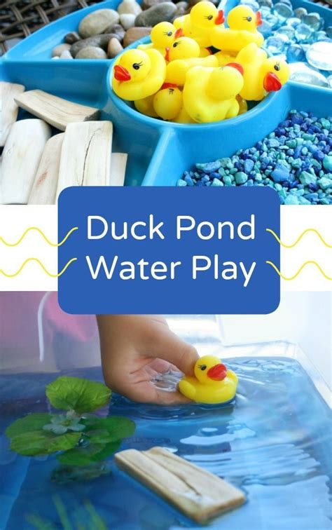 water table for 5 year duck pond sensory play duck pond water play and sensory