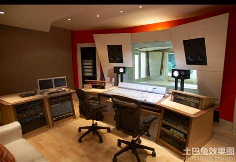 encore home design studio 小型录音棚设计图 土巴兔装修效果图