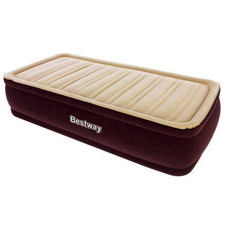 bestway 75 quot x38 quot x17 quot comfort raised airbed mattress 67550 walmart