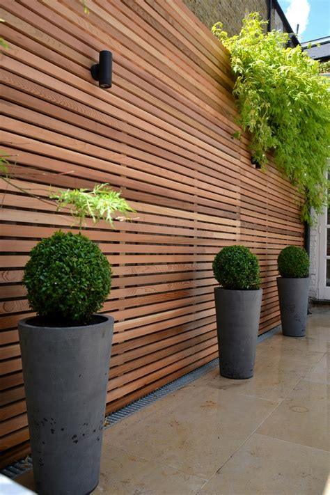 Garden Trellis Privacy Screen cedar timber batten cladding trellis privacy screen garden