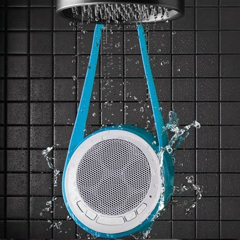 water resistant shower speakers shower speaker