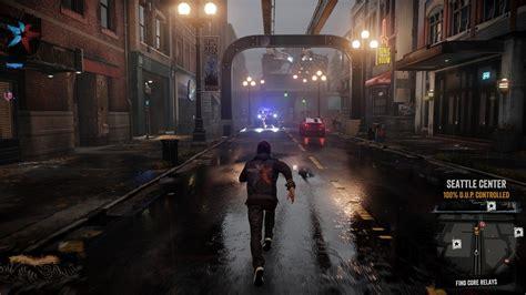 infamous  son  game gif screenshots show