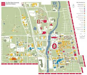 Ohio State Campus Map by Mikayla Doerzbacher Honors Amp Scholars E Portfolio