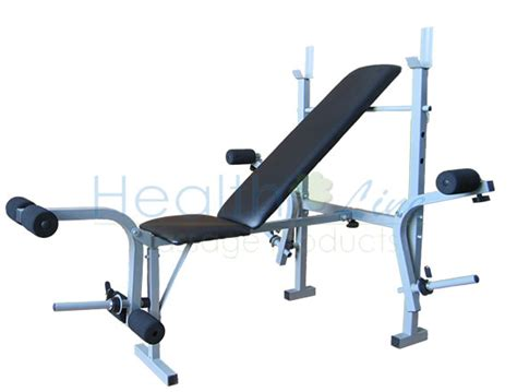 weight bench with leg extension healthline new weight bench press square leg extension