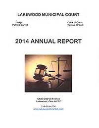 Lakewood Municipal Court Search Lakewood Municipal Court Annual Reports