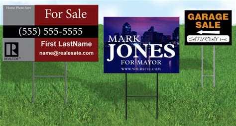 backyard signs yard sign printing near me nyc cheap yard signs