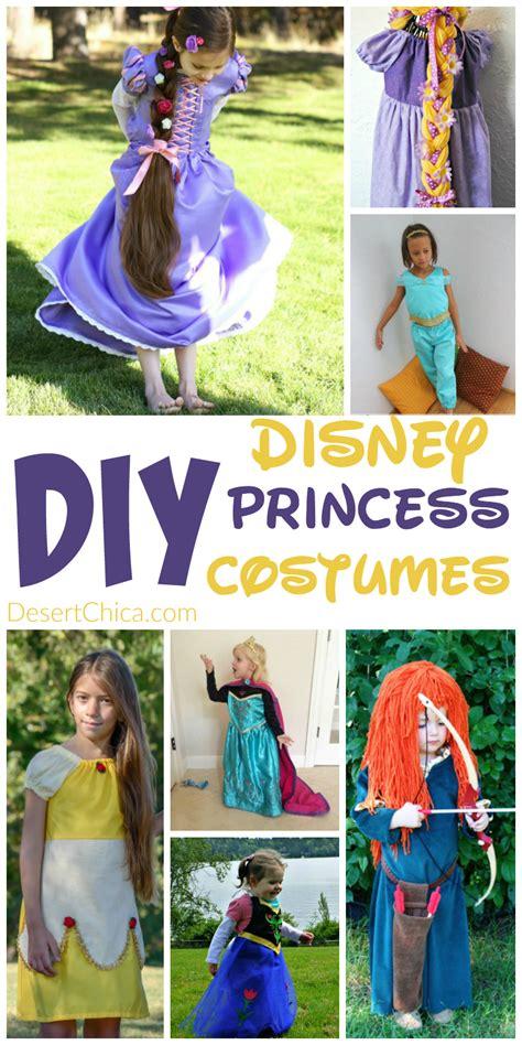 disney princess diy costume diy disney princess costumes desert chica