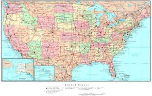 interactive us map united states map of states and