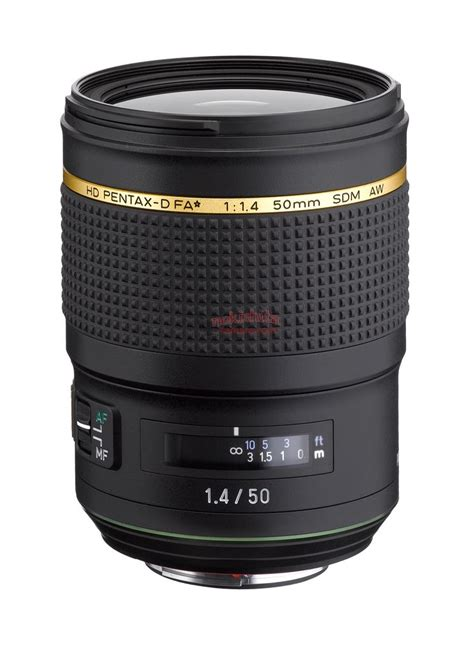 new pentax two new pentax lenses to be announced soon hd fa 50mm f 1