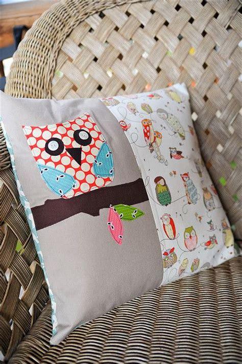 Bantal Owl appliqu 233 owl pillow