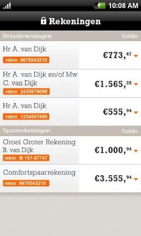 Ing Op ing bankieren android nederlandse apps
