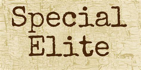 special elite font 183 1001 fonts