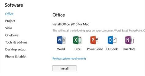 How To Reinstall Microsoft Office by And Install Office 2016 For Mac Using Office 365
