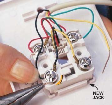 residential telephone wiring basics   wiring diagram