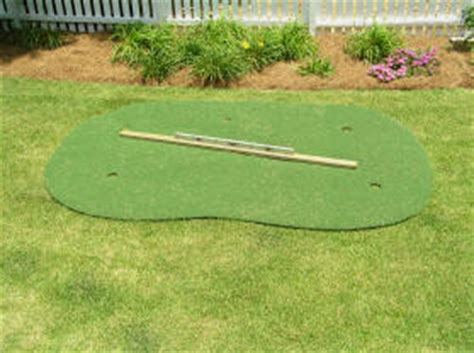 backyard putting green installation starpro greens