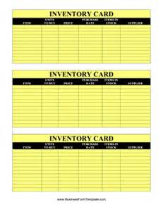 Card Stock Templates by Inventory Cards Template