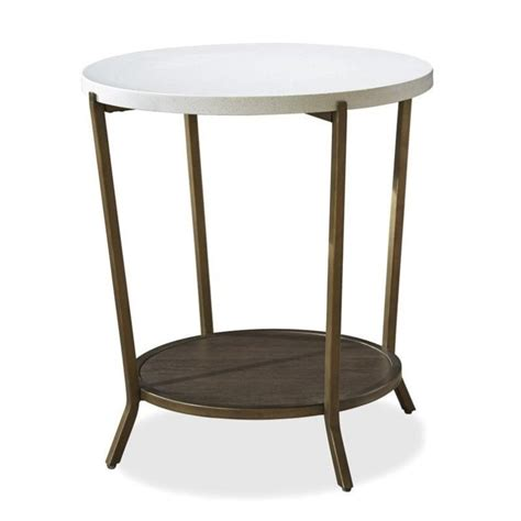Universal Furniture Playlist 58 Round Brown Eyed Girl | universal furniture playlist round end table in brown eyed