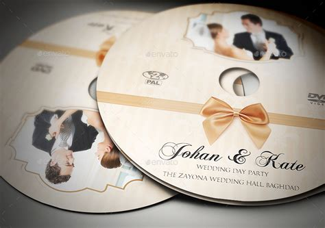 design cover wedding wedding dvd cover and label template bundle vol 2 by