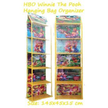 Hboz Marsha Hanging Bag Organizer Zipper Rak Tas Retsleting Karakter hboz winnie the pooh rak tas gantung retsleting hanging bag organizer zipper elevenia