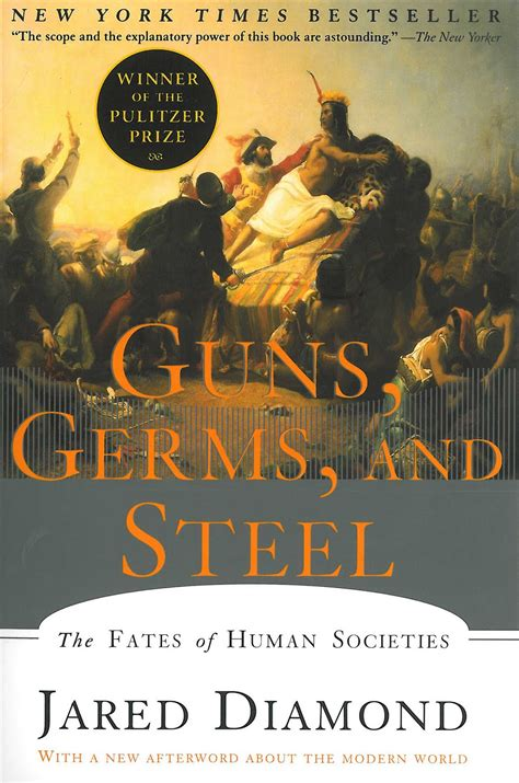 book review guns germs and steel the fates of human societies history on air