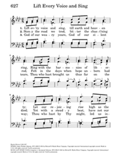 Free Sheet Music For Piano Lift Every Voice And Sing