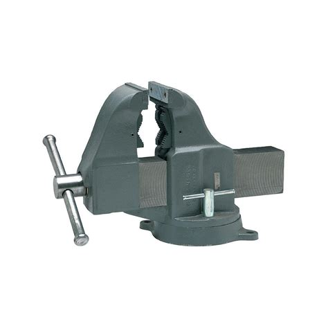 columbian bench vise columbian 5 in combo pipe and bench vise 10404 the home