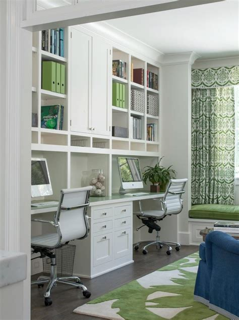 built in office desk ideas home office traditional with
