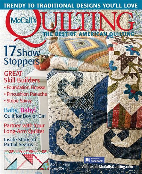 Arm Quilting Magazine by Eye Quilts Baby