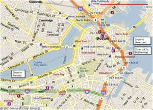 Map Of Downtown Boston by Boston Map Related Keywords Amp Suggestions Boston Map