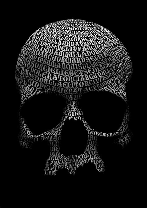 tutorial skull photoshop tutorial create a skull out of type digital arts