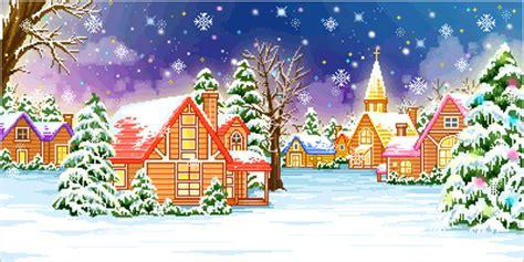 imagenes navideñas con movimiento escenas de navidad christmas scenery paisajes