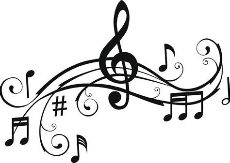 clips music top 72 music notes clip art free clipart image