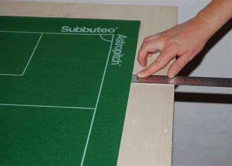 costruire tavolo subbuteo costruire una tavola da gioco
