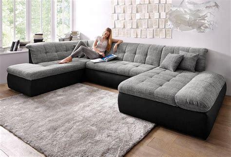 Sofa 3m Breit by Wohnlandschaft Wahlweise Mit Bettfunktion Und
