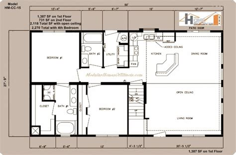 luxury modular home floor plans illinois new home plans