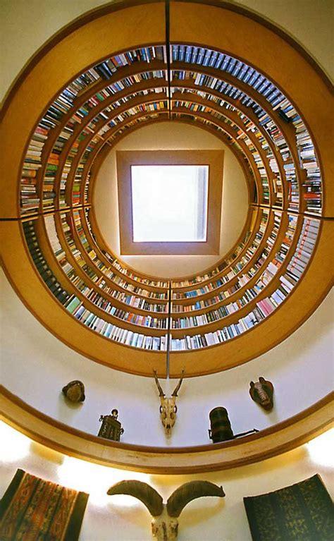 circular library bookcase idesignarch interior design