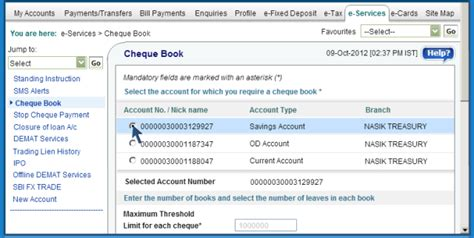 application letter for new cheque book sbi sbi banking tips get account summary cheque book