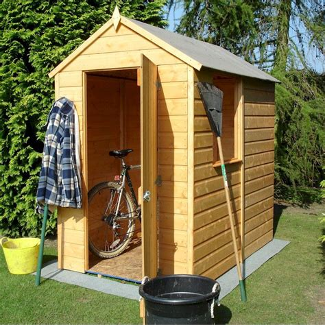 4 X 6 Garden Shed by Shire Shetland Apex Shed 6x4 One Garden