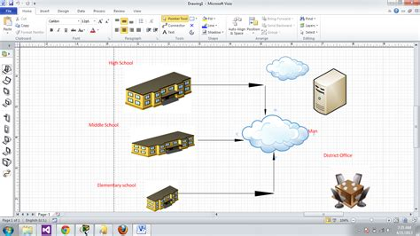 office visio project networking project diagram on microsoft visio mesh software