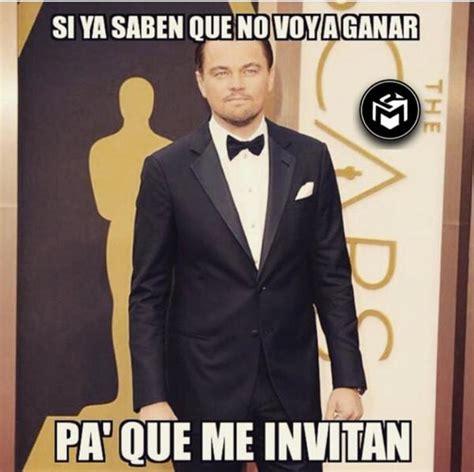 Memes De Leonardo Dicaprio - redes se inundan con memes oscar para leo unoscarparaleo