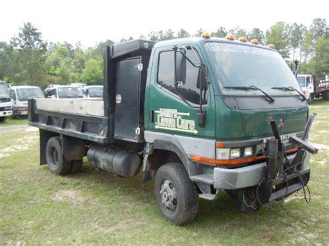 mitsubishi fuso dump truck mitsubishi fuso fg 2000 4 wheel drive dump truck used