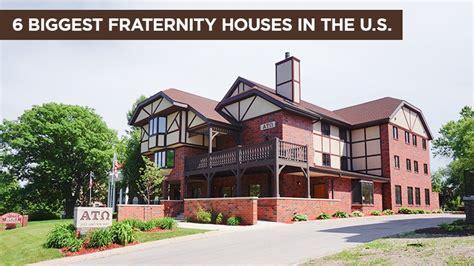 biggest fraternity houses 6 biggest fraternity houses in the u s