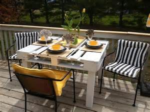 Patio Table Ideas Diy Pallet Patio Table Furniture Pallets Designs