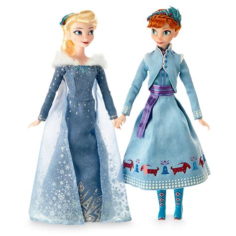 frozen and dolls look at and elsa doll set from olaf s frozen