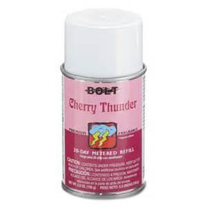 Lightning Bolt Car Air Freshener Bolt Metered Air Freshener Refill Cherry Thunder