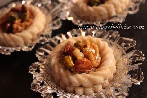 cuisine alg駻ienne gateaux traditionnels bouch 233 171 pate d amande et fruit sec 187 une