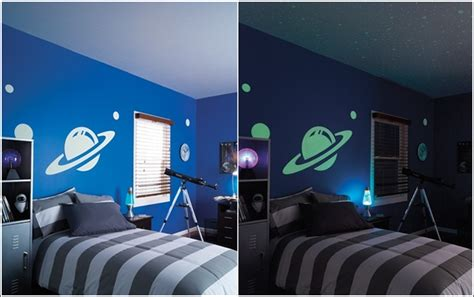 glow in the rooms glow within the darkish paint and decals for your baby s room house interior designs